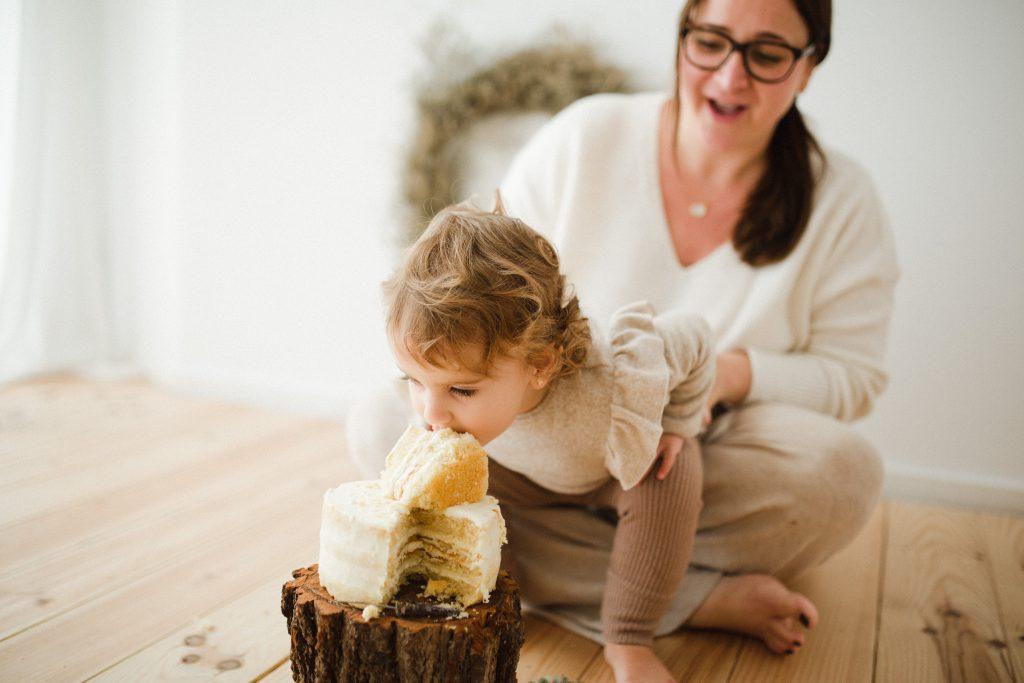Smash cake fotografia Vilanova i la Geltrú